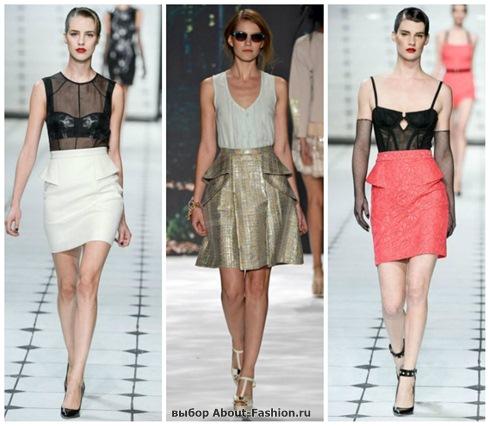 модные юбки 2013-8