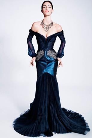 платья на новый год 2013 -011