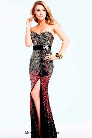 платья на новый год 2013 -013