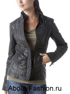 Кожаные куртки зима 2011 от promod на фото