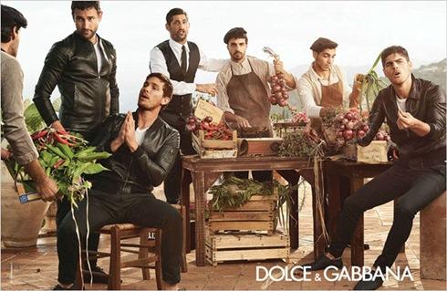 рекламная кампания Prada Dolce Gabbana 2014 - 002