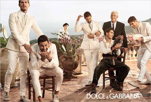 рекламная кампания Prada Dolce Gabbana 2014 - 003