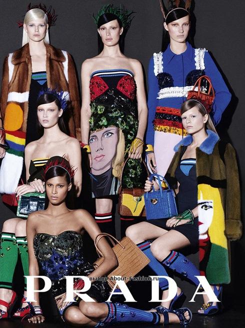 рекламная кампания Prada Dolce Gabbana 2014 - 004