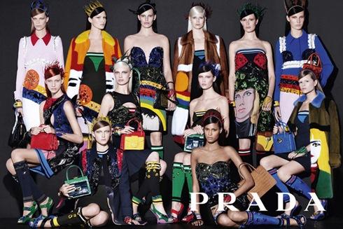 рекламная кампания Prada Dolce Gabbana 2014 - 005