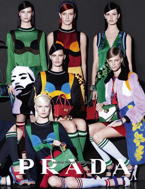 рекламная кампания Prada Dolce Gabbana 2014 - 006