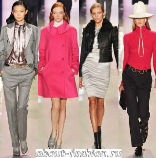 Осень зима 2009 2010 мода 2015 about fashion ru