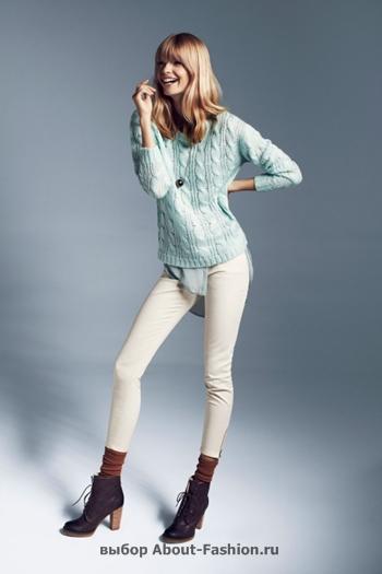узкие брюки, вязаные свитера, коллекция reserved fall 2012 -001
