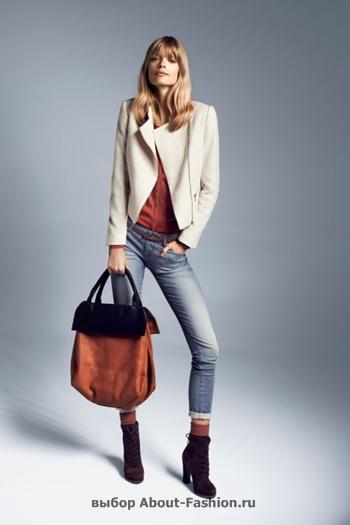 узкие брюки, вязаные свитера, коллекция reserved fall 2012 -003