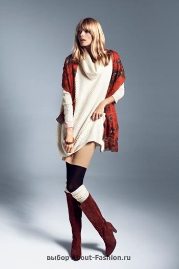 узкие брюки, вязаные свитера, коллекция reserved fall 2012 -007