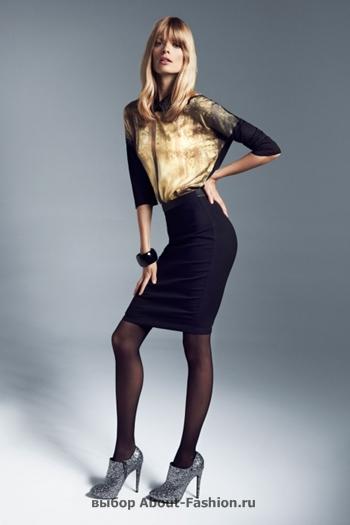 узкие брюки, вязаные свитера, коллекция reserved fall 2012 -011