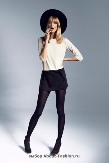 узкие брюки, вязаные свитера, коллекция reserved fall 2012 -012