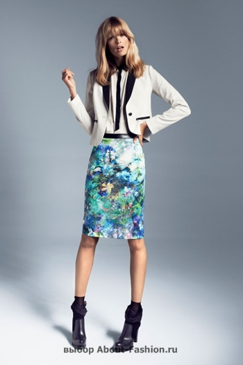 узкие брюки, вязаные свитера, коллекция reserved fall 2012 -013