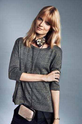 узкие брюки, вязаные свитера, коллекция reserved fall 2012 -019