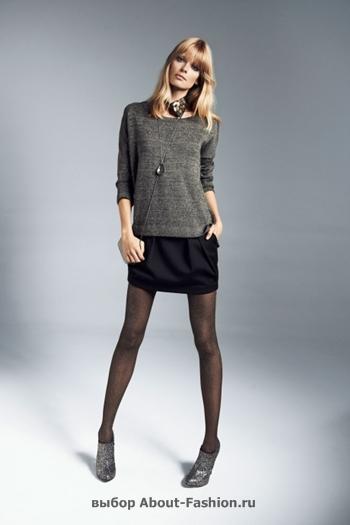 узкие брюки, вязаные свитера, коллекция reserved fall 2012 -023