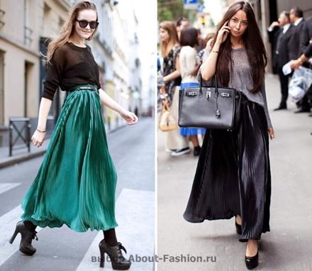 юбка плиссе 2012 About-Fashion.ru -002
