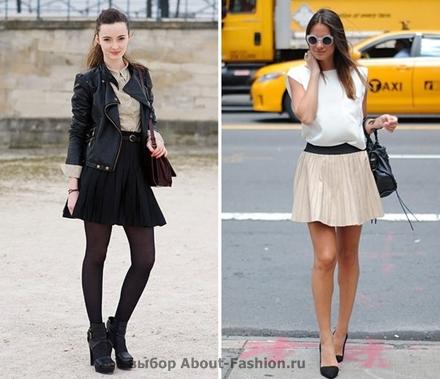 юбка плиссе 2012 About-Fashion.ru -014